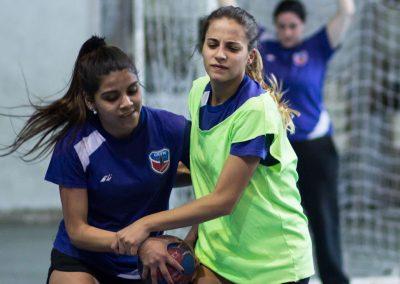 Jugando al handball