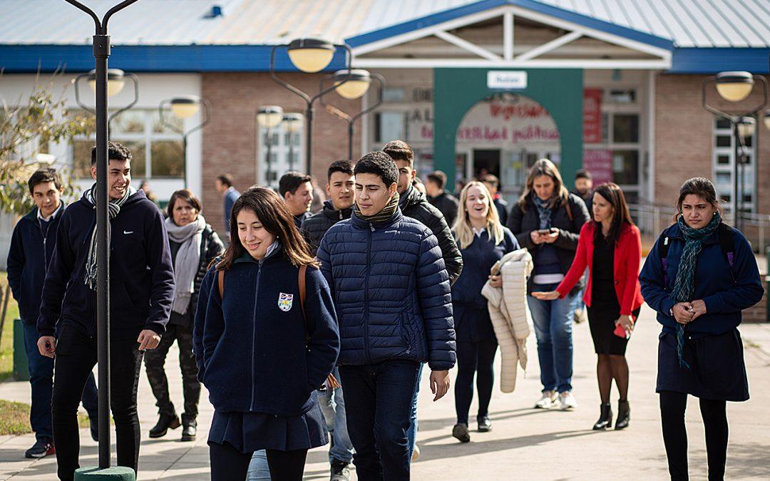 El 62,3% de estudiantes de nivel medio se formará en Villa María