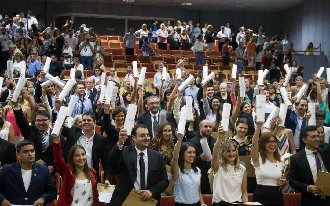 Se realizó la XXVIII Colación de Grado de la UNVM