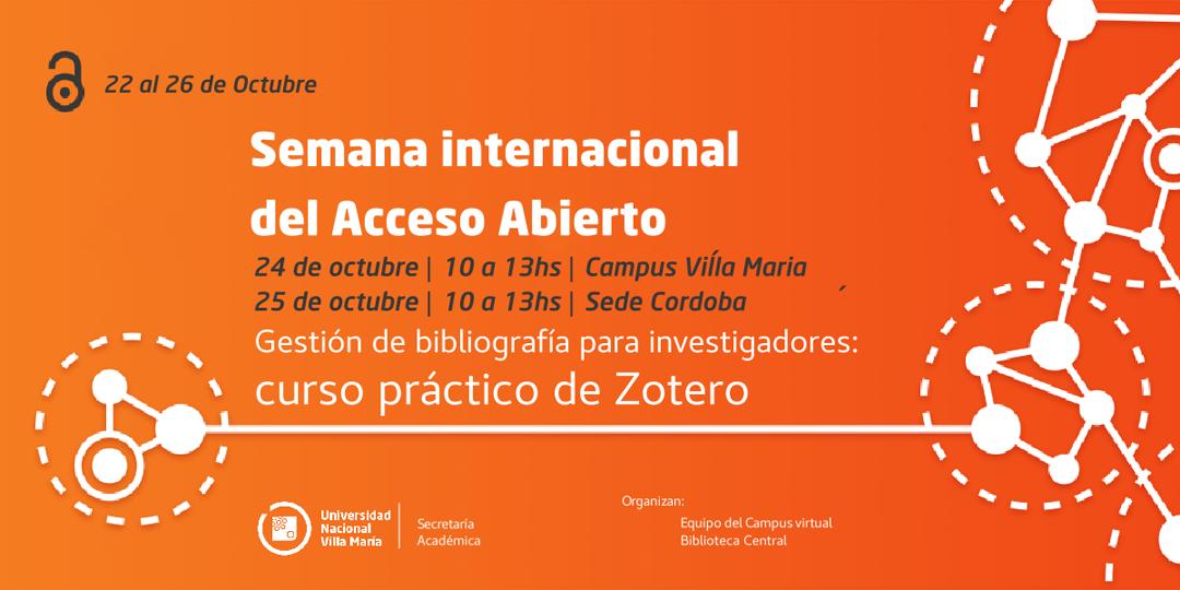 """UNVM se suma a la """"Semana Internacional del Acceso Abierto"""""""
