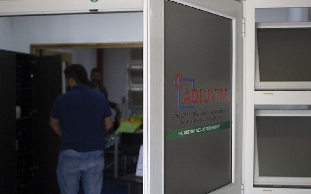 Más del 80% del padrón de ADIUVIM eligió nuevas autoridades