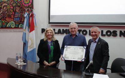 "Luis Pescetti es ""Profesor Honorario"" de la UNVM"