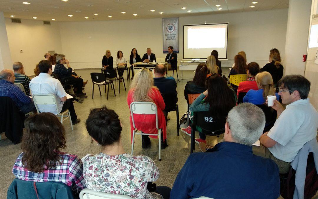 Académica realizó una jornada con docentes y coordinadores