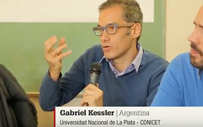 Gabriel Kessler dictará un seminario de posgrado