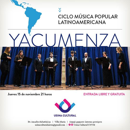 Nueva edición del Ciclo Música Popular Latinoamericana