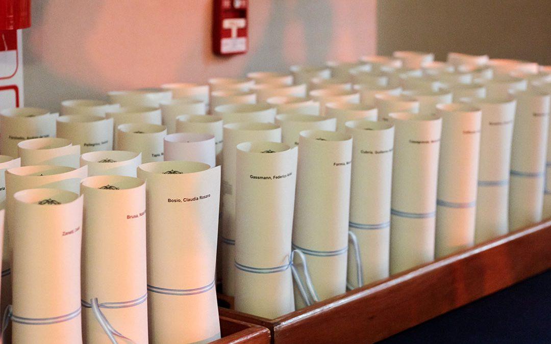 Básicas: Nueva Ceremonia de Colación de Grado