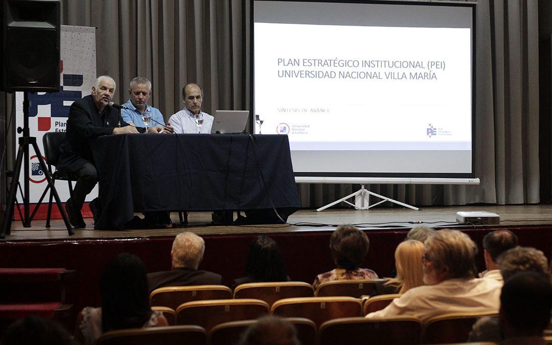 La UNVM presentó un informe sobre el Plan Estratégico