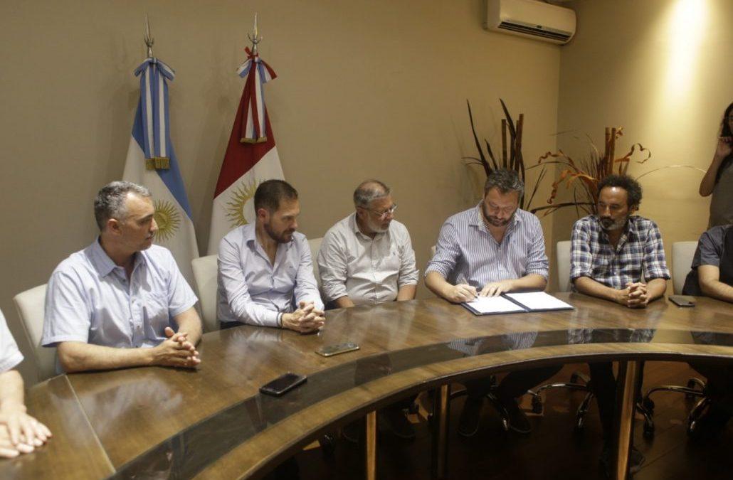 Convenio entre el Municipio y el Instituto de Básicas
