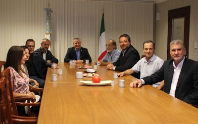 Biogás: Especialistas italianos visitan la universidad