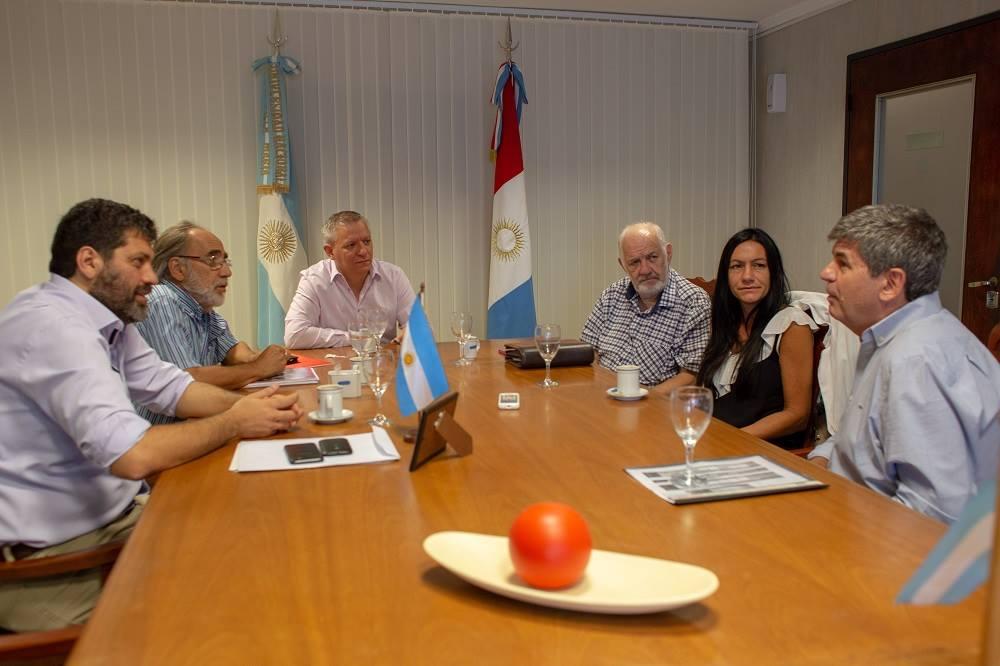 Francisco Tamarit fue recibido por las autoridades de la UNVM