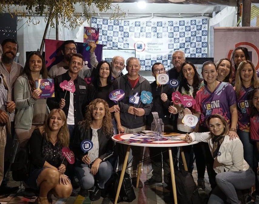 La UNVM celebró su participación en el recorrido peñero