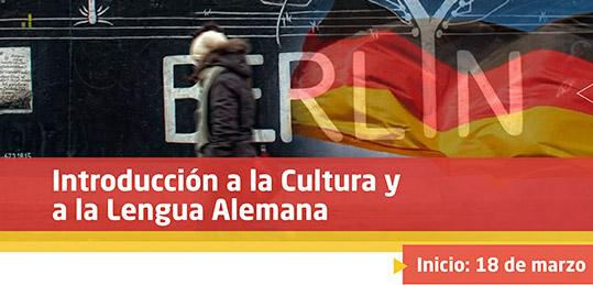 Taller: Introducción a la Cultura y a la Lengua Alemana