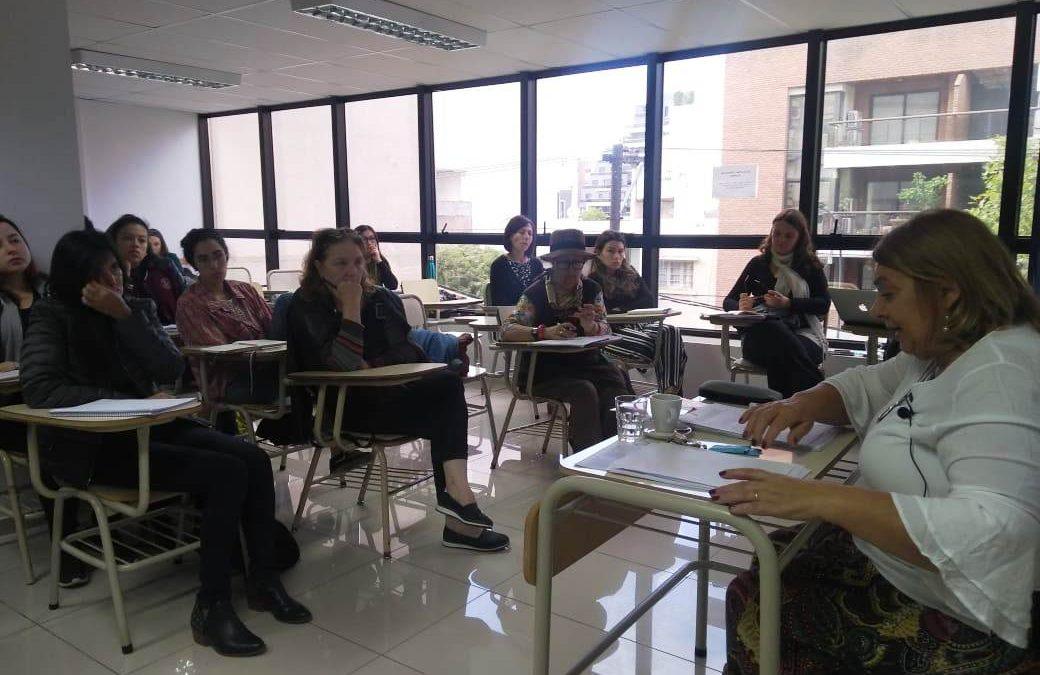 Carmen Rico de Sotelo brindó un taller en la sede Córdoba