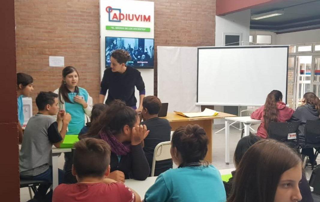 """Actividad en la UNVM por el """"Día de la Memoria"""""""