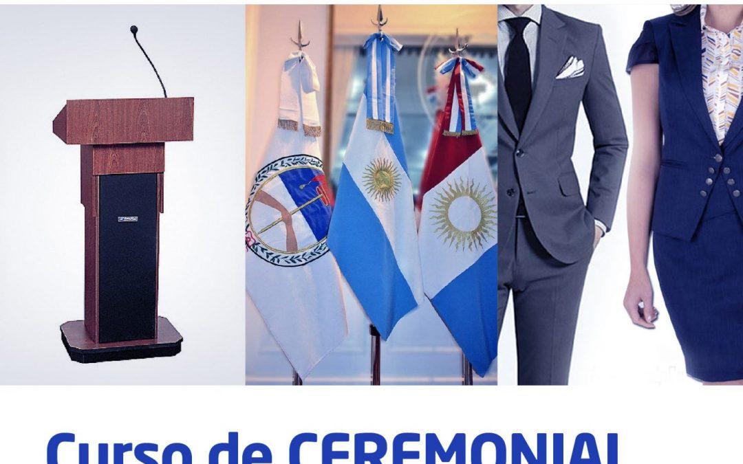 Curso de Ceremonial, Protocolo y Etiqueta