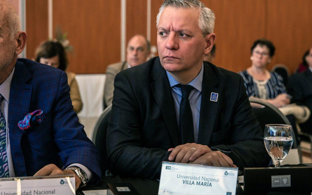 El rector Negretti participa del Plenario del CIN