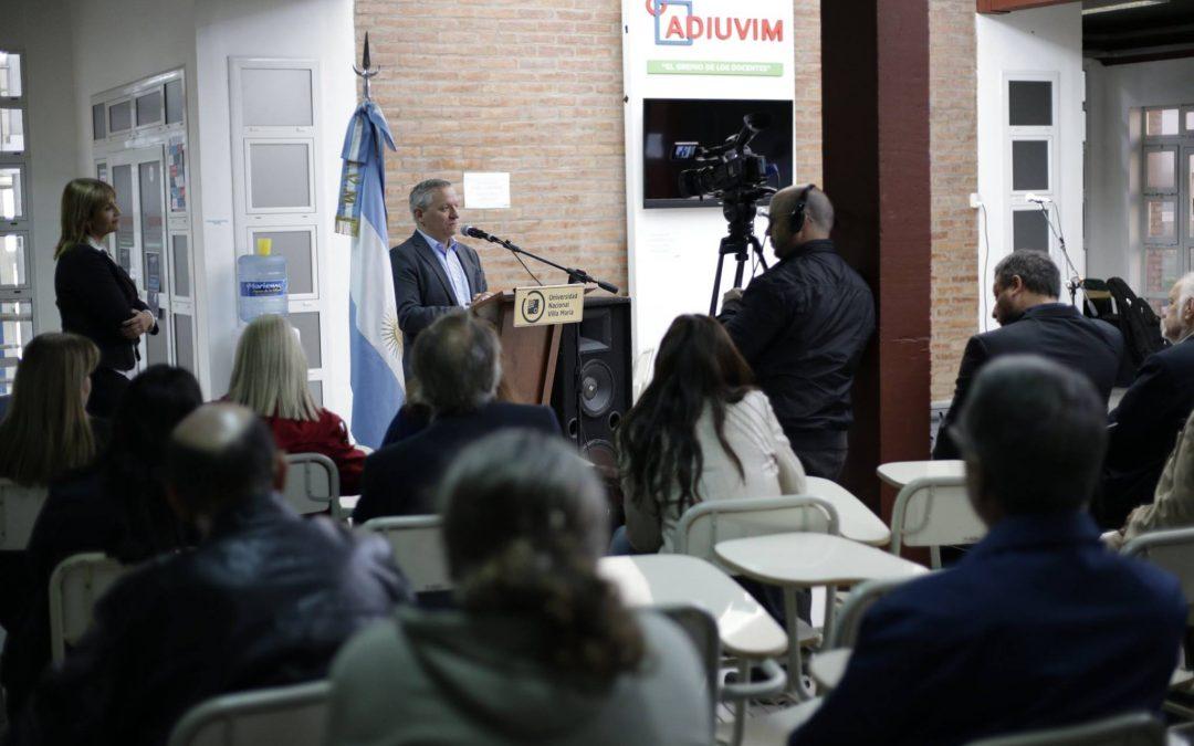 La UNVM celebró sus 24 años con inauguraciones y reconocimientos