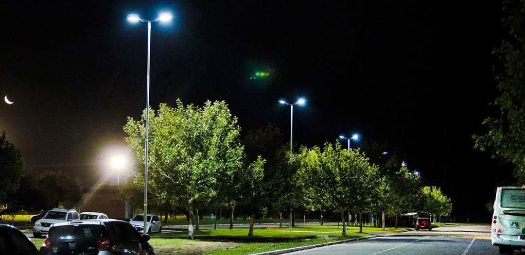 Alumbrado LED en el Campus