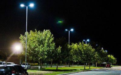 Alumbrado LED en el Campus