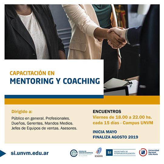 Capacitación en Mentoring y Coaching