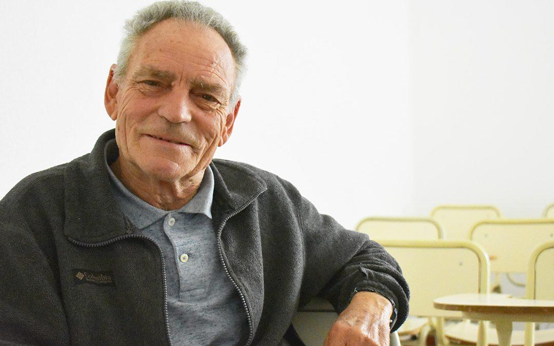 Agronomía recibió a un estudiante de 73 años