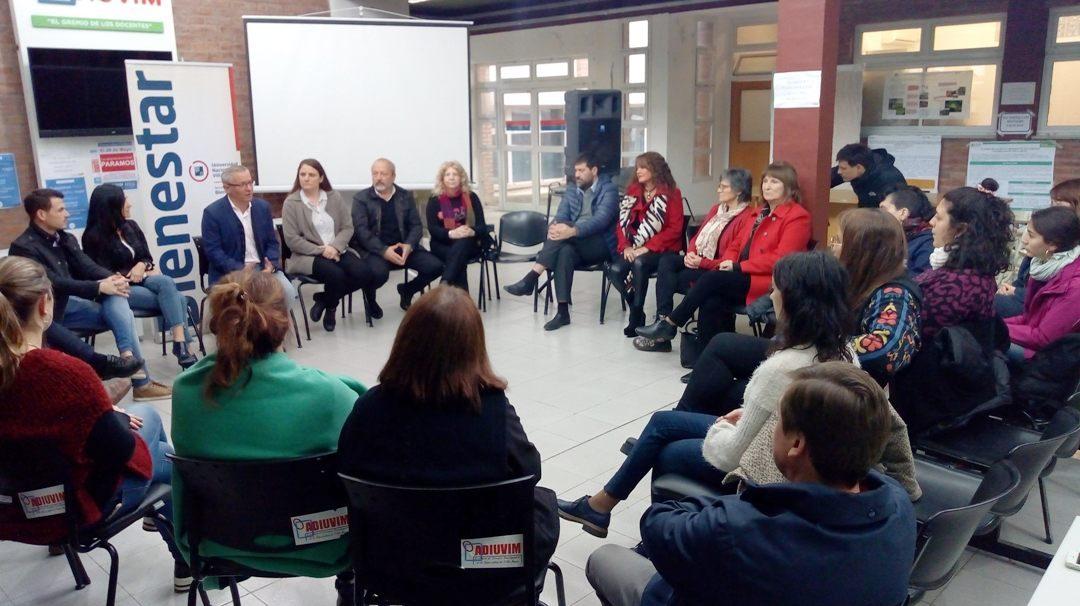 La UNVM creó su «Centro de Mediación»