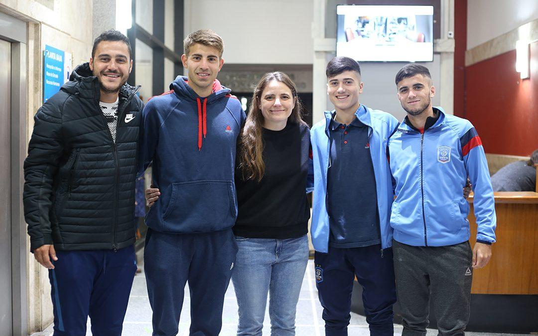 Representantes de la UNVM en los Juegos Olímpicos Universitarios