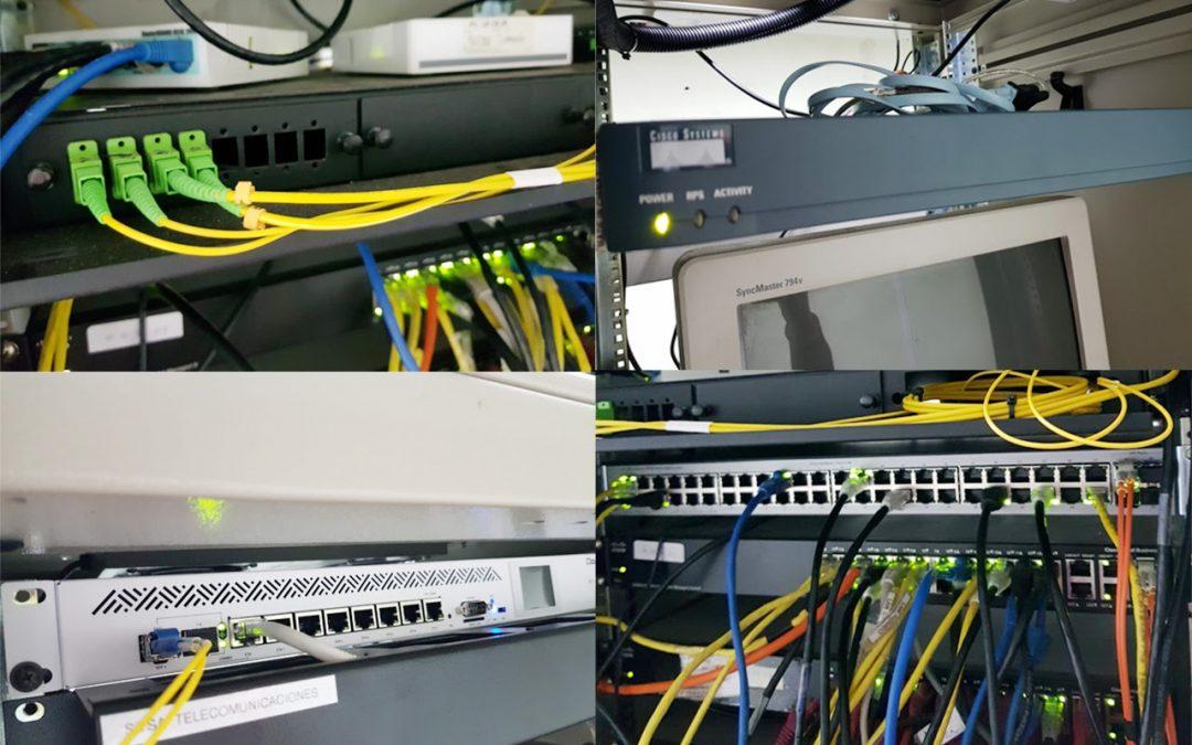 Nueva infraestructura de cableado para una mejor conectividad