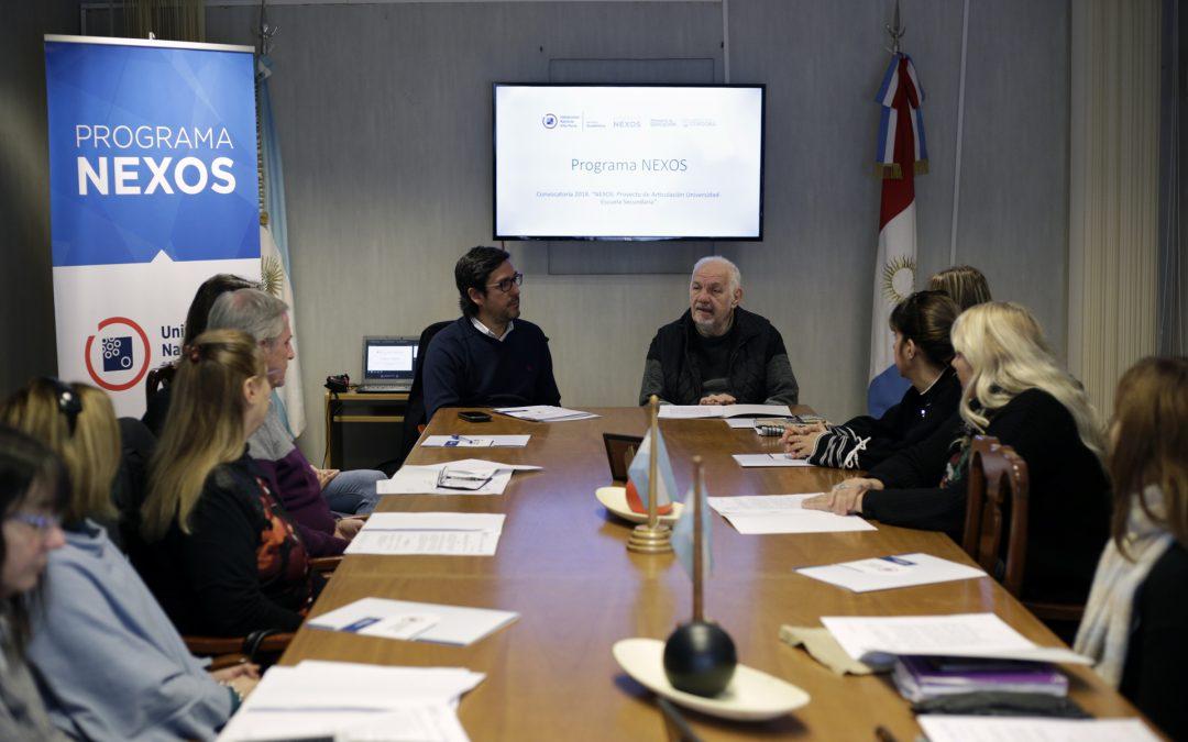 Programa NEXOS: se conformó el Consejo Asesor Educativo