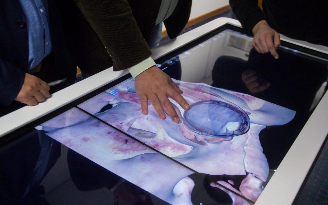 Presentación del «Anatomage Table»