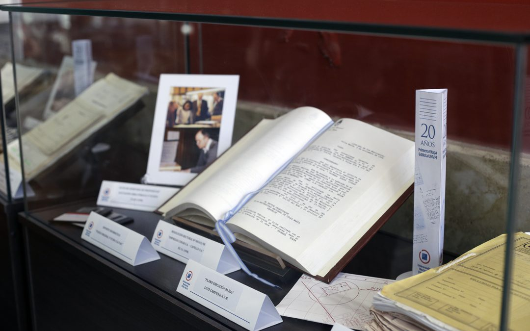 Exponen archivos históricos de la UNVM