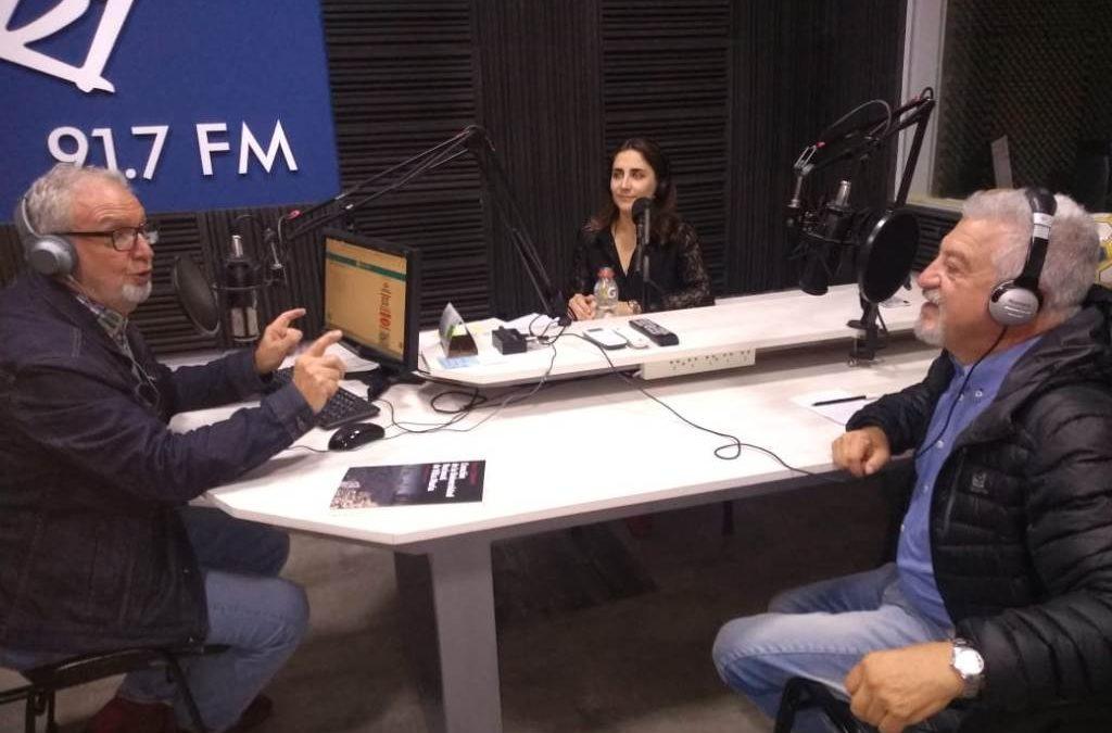 Segmento de la UNVM en Sport FM