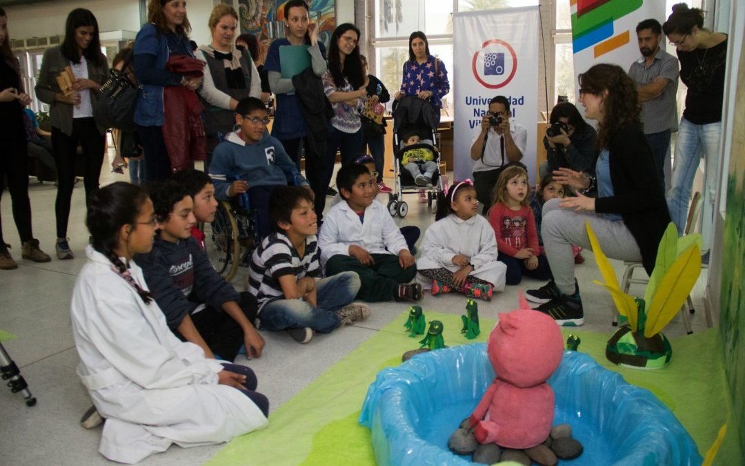 Voluntariado: entregarán cuentos adaptados para niños/as