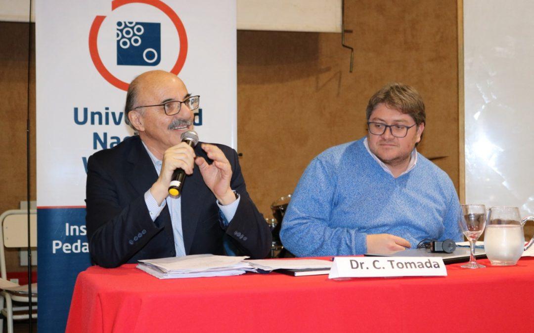"""Carlos Tomada: """"Launiversidad tiene un rol estratégico"""""""