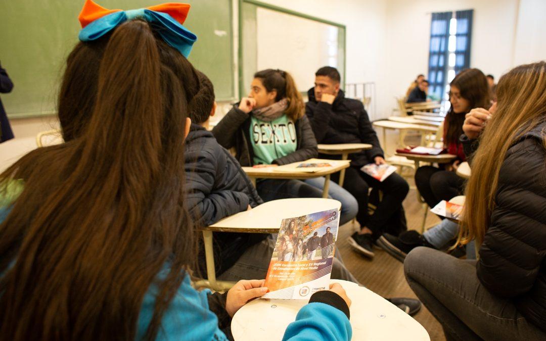 Encuentro Local y Regional de Estudiantes, en marcha