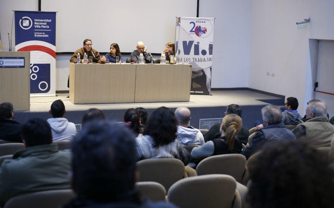 "Max Delupi participó del ciclo ""La Argentina que Viene"""