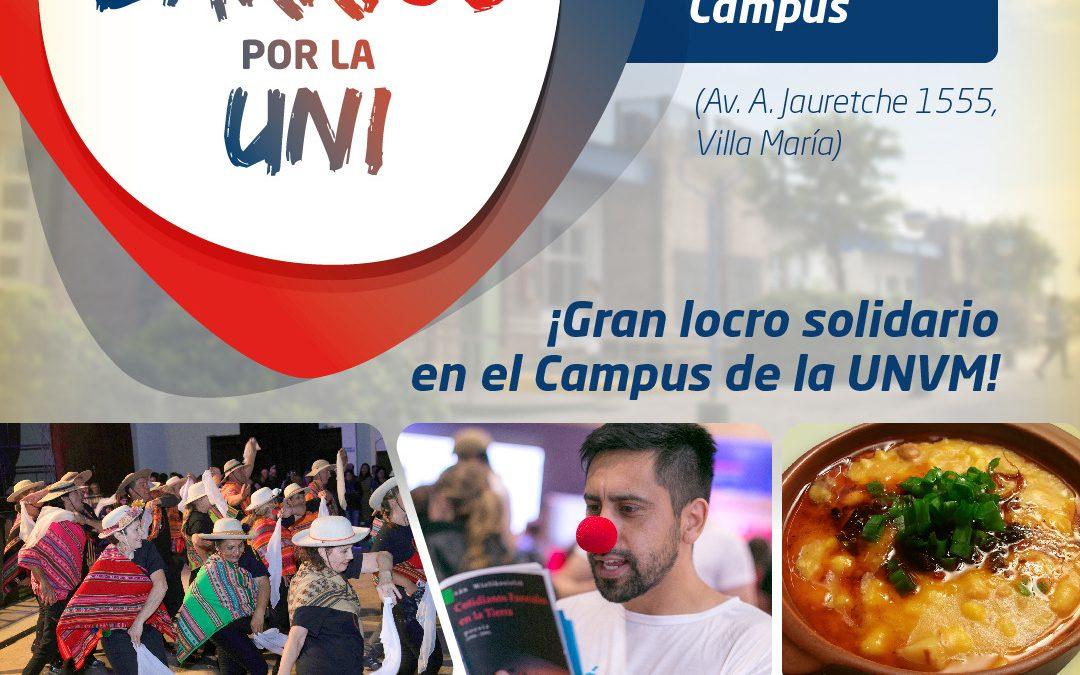Locro solidario: con los barrios por la universidad