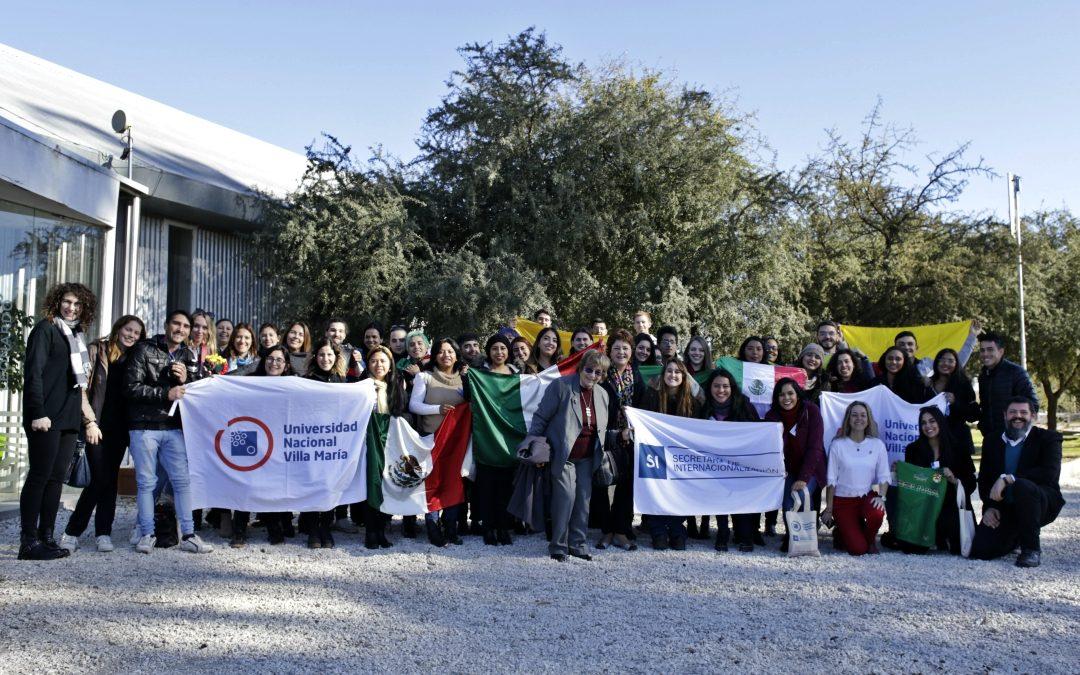 Segunda bienvenida a estudiantes internacionales en la UNVM