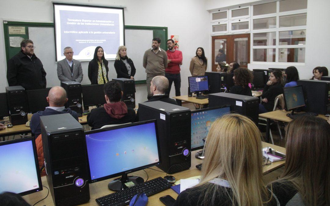 Tecnicatura en Gestión Universitaria: inició 3ª cohorte