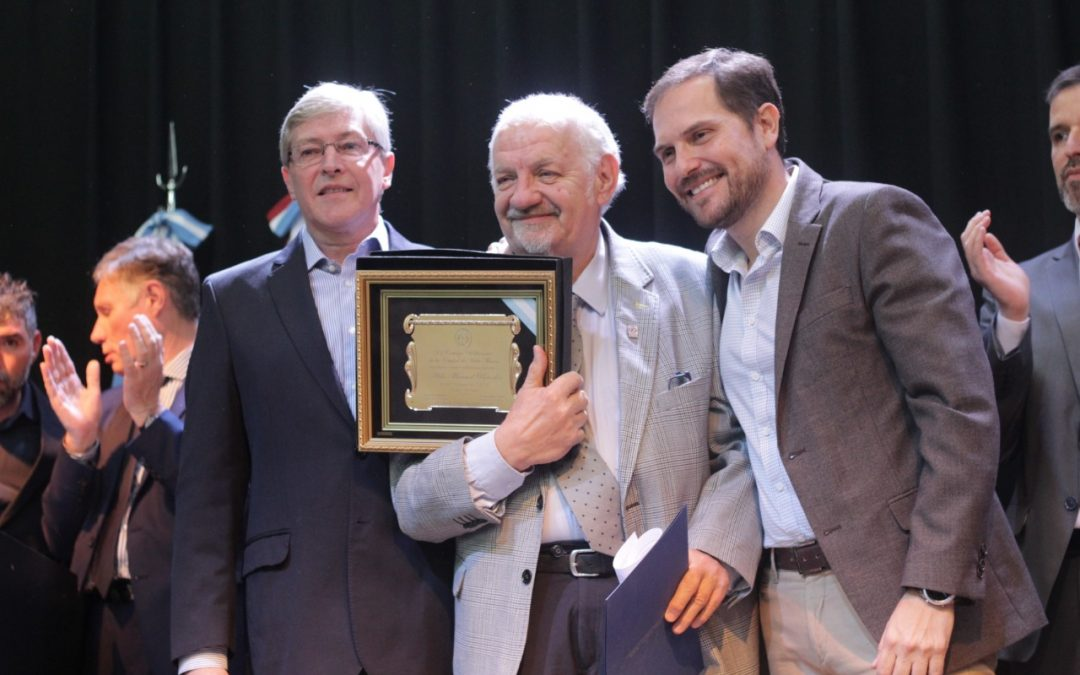 Aldo Paredes fue distinguido como Ciudadano Notable 2019