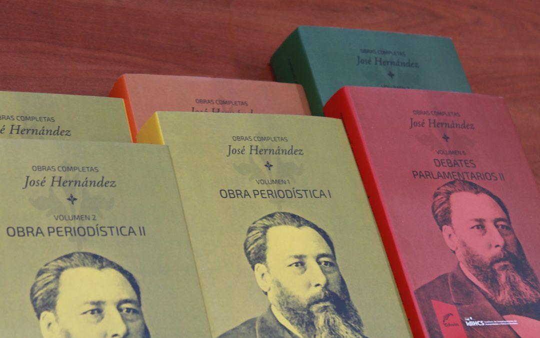 EDUVIM continúa difundiendo «Obras de José Hernández»