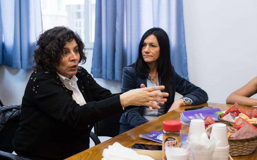 """Paula Lenguita destacó el protocolo contra """"las violencias"""""""
