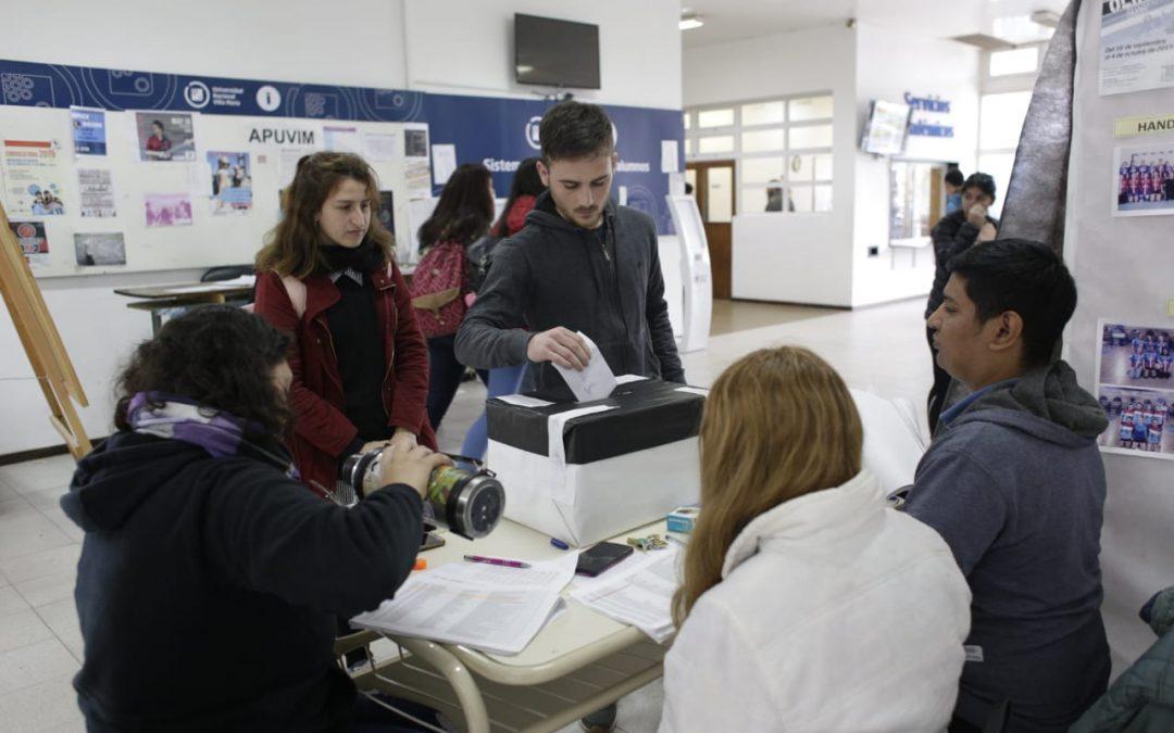 Elecciones en los Centros de Estudiantes de Sociales