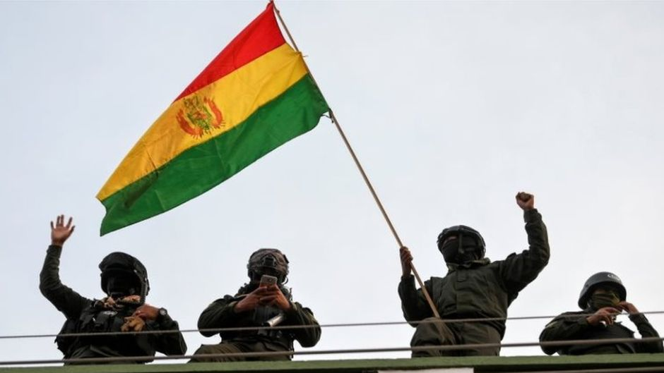 CIN repudia golpe en el Estado Plurinacional de Bolivia