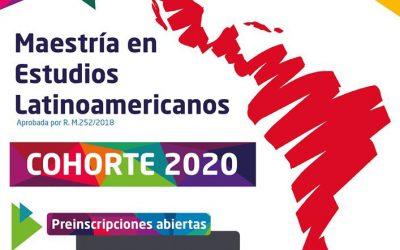 Nueva cohorte de la Maestría en Estudios Latinoamericanos