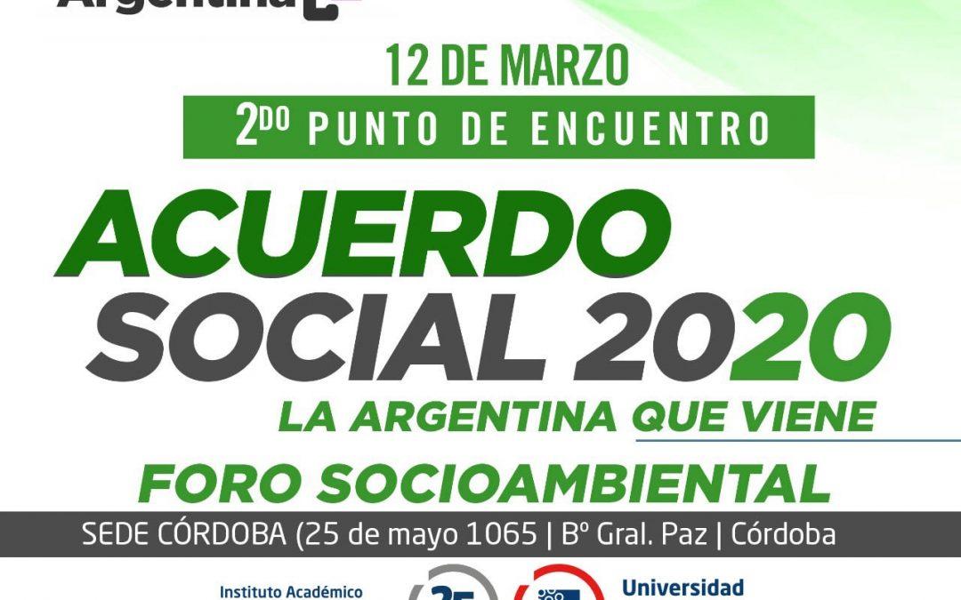 Agenda Argentina: Encuentro para el Acuerdo Social 2020