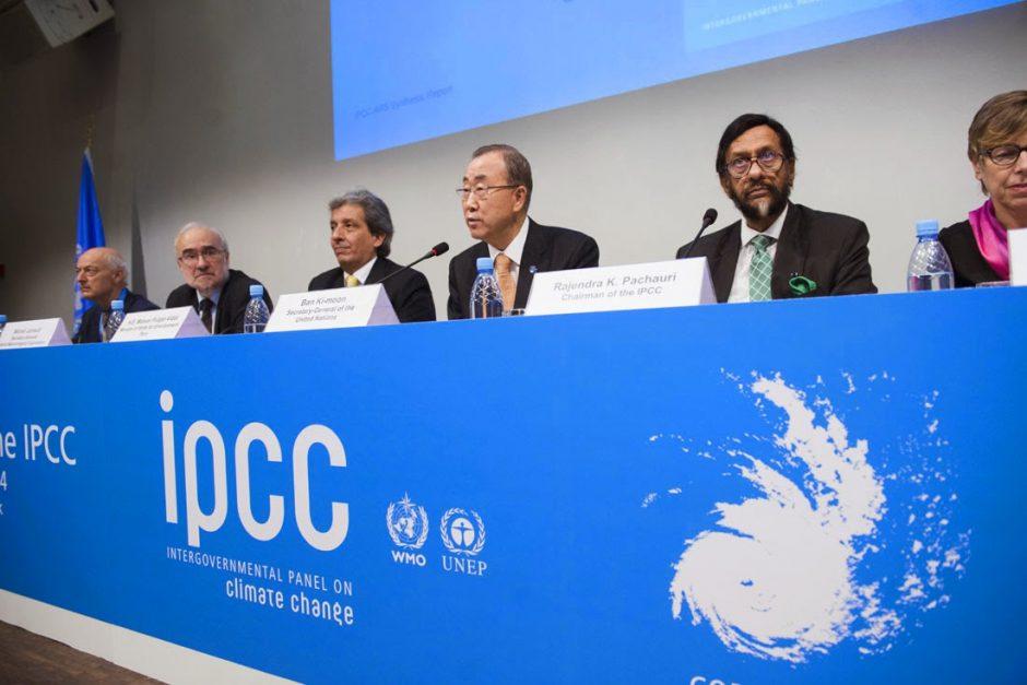 Docentes en el «Grupo de Expertos sobre Cambio Climático»