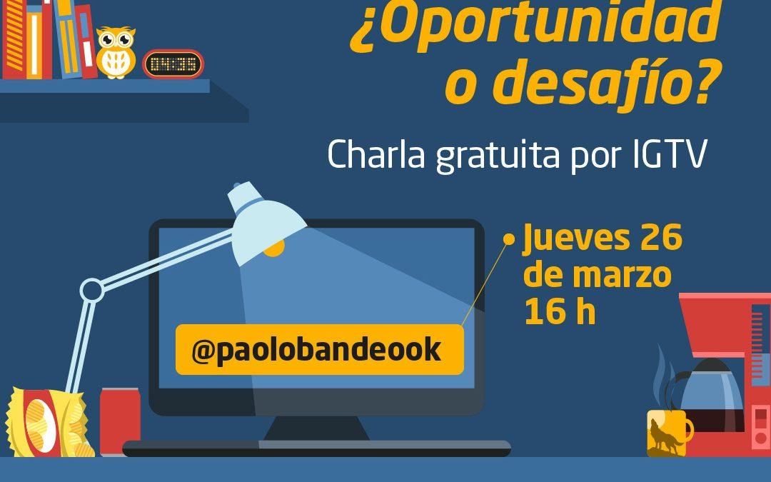 Charla online sobre teletrabajo