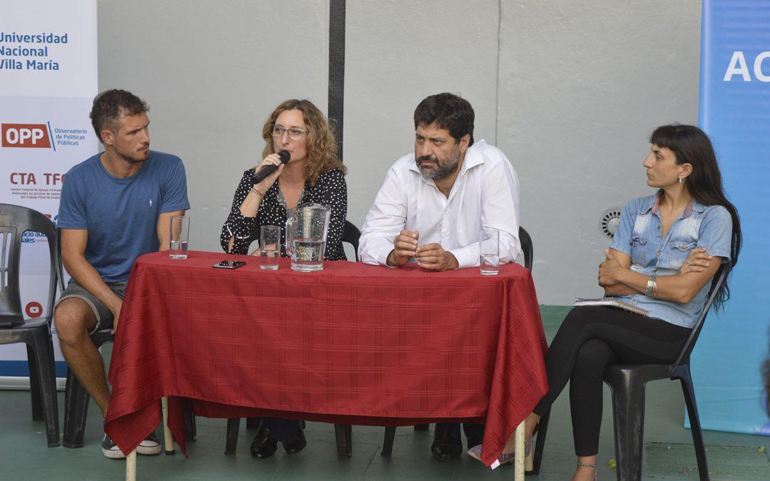 Debate: políticas públicas y modelo productivo en Argentina