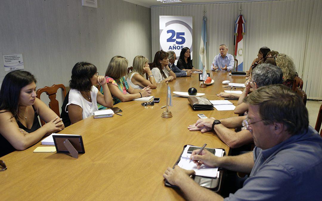 Reunión de representantes del Consejo Social